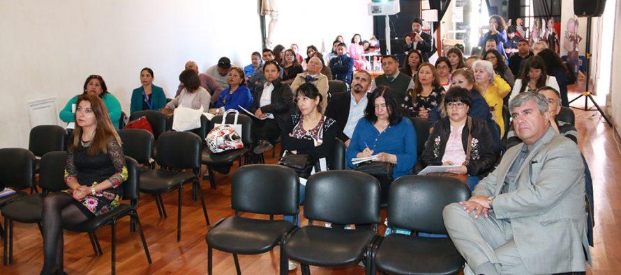 Capacitan a funcionarios municipales de la región sobre el Registro Social de Hogares