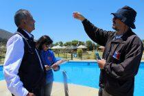 Seremi de Salud inicia temporada de fiscalización de piscinas en Las Curuninas