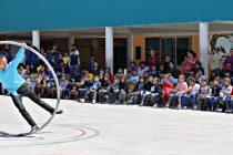 Estudiantes de Algarrobito, Alfalfares y Saturno disfrutan de Recreos Entretenidos Culturales