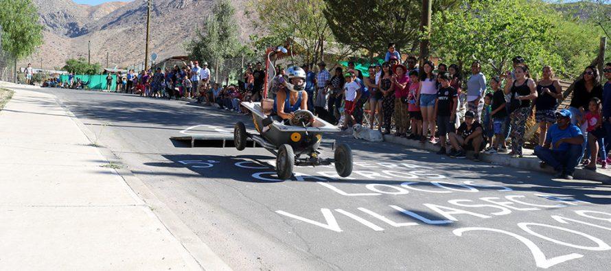 Carrera de Carros Locos dio vida al cierre del aniversario de Villaseca