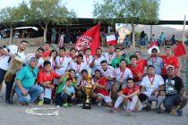 Villaseca se coronó bicampeón en la serie segunda de la ANFA Vicuña