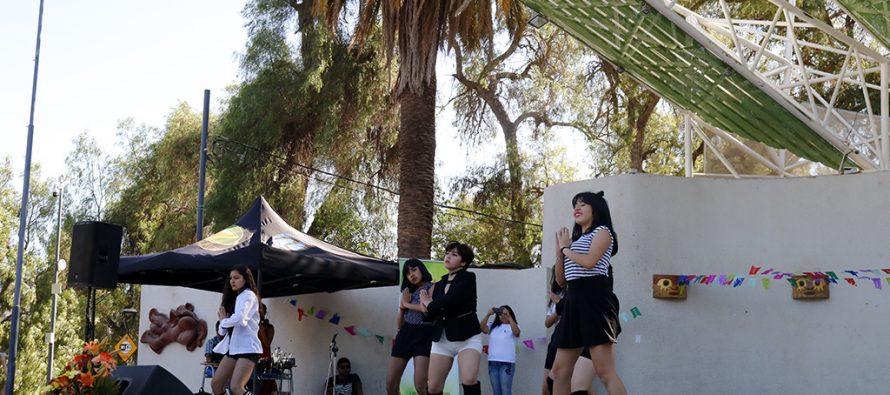 Con gran participación se desarrolló el I festival de las artes de la niñez y juventud en Vicuña
