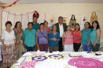 Centro de madres de Peralillo realizó la muestra anual de sus creaciones