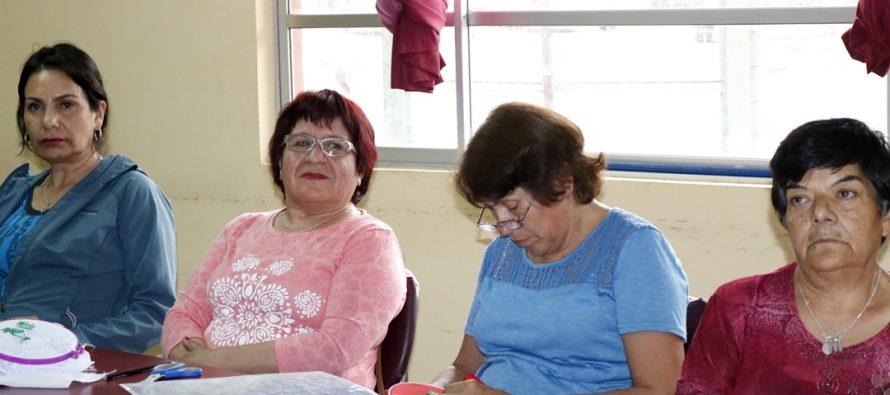 Población La Estación es la nueva beneficiaria con los talleres femeninos