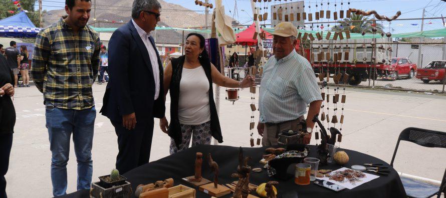 Con rescate de tradiciones se vivió la I feria artesanal costumbrista en población Estación