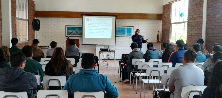 INDAP difunde sus instrumentos a los alumnos de Escuela Familiar Agrícola Valle de Elqui