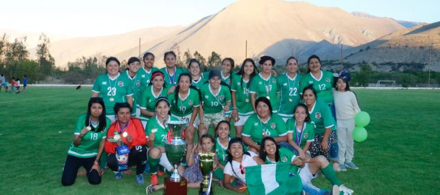 Unión Esperanza de El Tambo es el tricampeón de la Liga Femenina de Fútbol