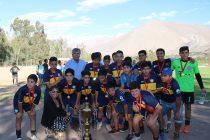 Club deportes Alameda fue el triunfador de la segunda serie infantil de ANFA Vicuña