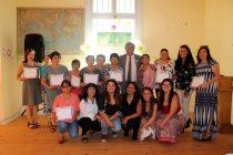 En El Arenal 17 mujeres se certificaron en el aprendizaje de manualidades en lana
