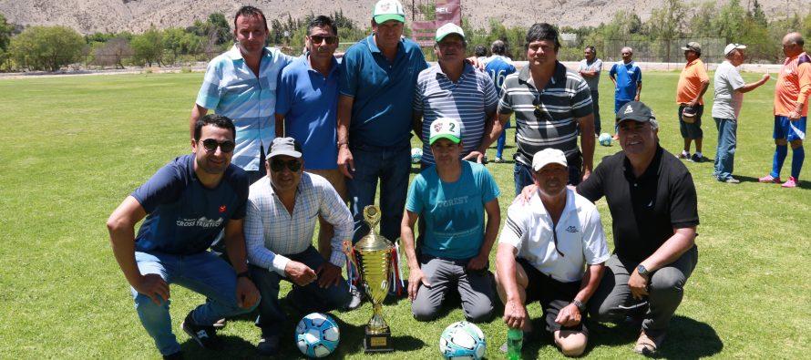 CD San Isidro y Unión Esperanza fueron los monarcas de la Liga Laboral Senior 2018 de Vicuña