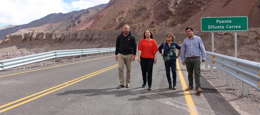 Con nueva infraestructura vial se inició temporada 2018-2019 del Paso de Agua Negra