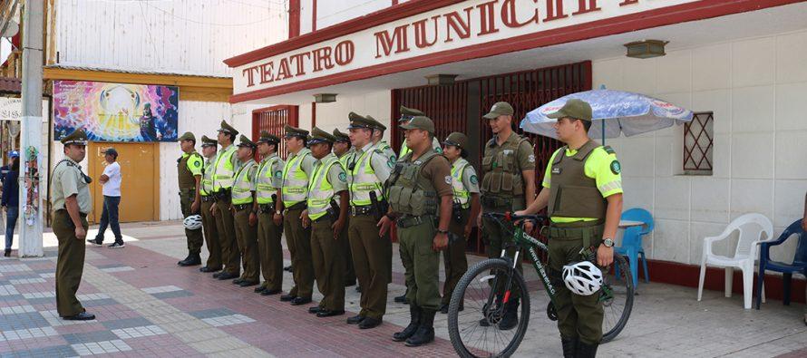 Carabineros de Vicuña en conjunto con el municipio local lanzan una campaña de Navidad Segura