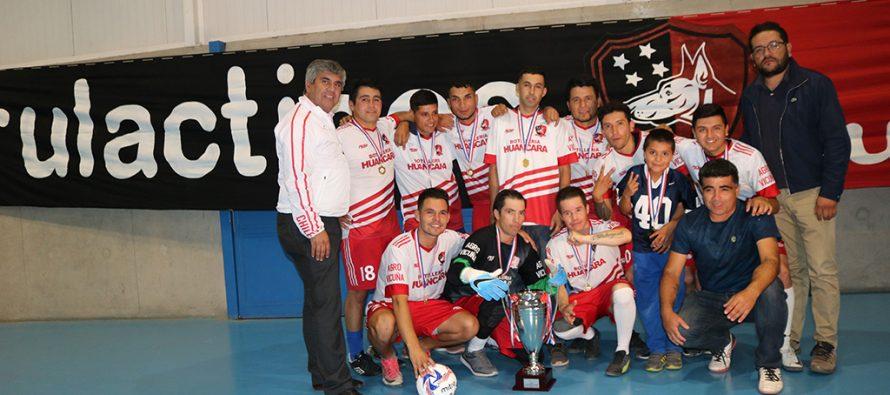 """""""Los Firulácticos"""" se quedaron con su tetra campeonato en la liga de baby fútbol en Vicuña"""