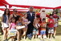 Sector poniente de la comuna de Vicuña celebró su fiesta de navidad para niños y niñas