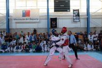 Vicuña fue el epicentro de un nuevo campeonato nacional de taekwondo WT
