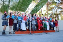 Colegio Joaquín Vicuña Larraín entregó un emotivo festival de Villancicos a la comunidad vicuñense