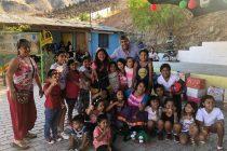 Destacan la alegría que entrega a niños y niñas el Team Fantasía de Vicuña en esta Navidad