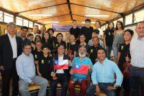 Embajada de Taiwán dona instrumentos a Orquesta de Niños del Valle del Elqui