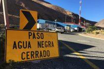 Paso de Agua Negra se mantiene cerrado por rodados en territorio argentino
