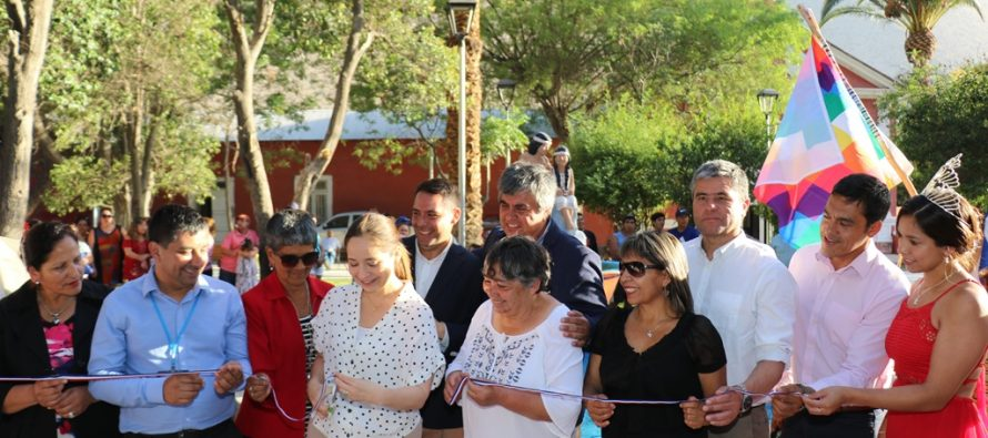 Turistas y habitantes de Diaguitas disfrutarán de remozada plaza pública