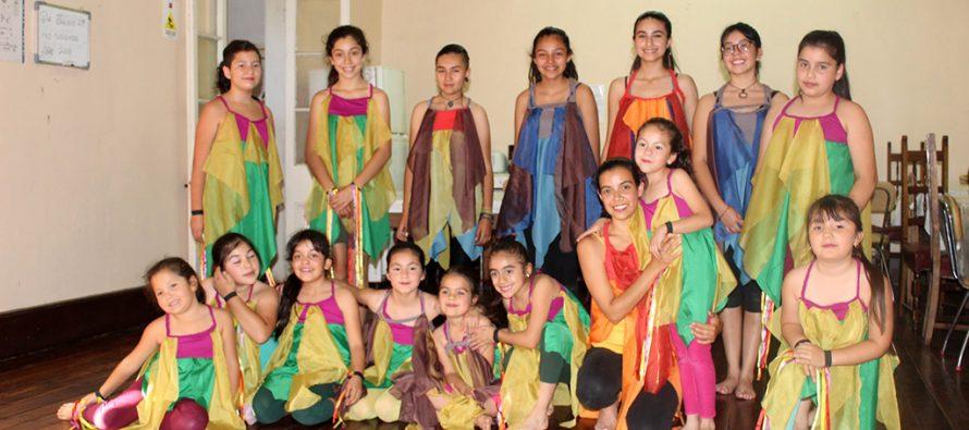 Escuela de danza de Vicuña expondrá los resultados de su proceso formativo