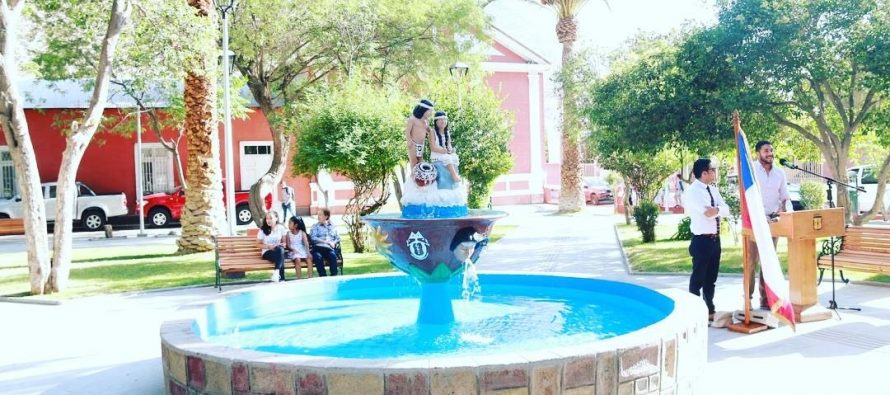 Renovada plaza de Diaguitas
