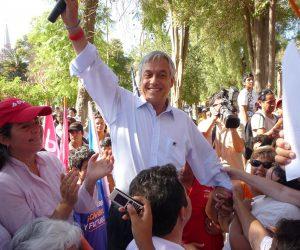 Visita Presidente Piñera a Vicuña 2010