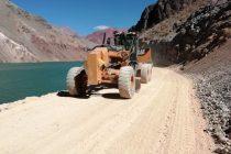 MOP rehabilita tránsito por paso Internacional de Agua Negra