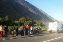 Herido grave en accidente en sector ruta 41 CH Fundo Huancara