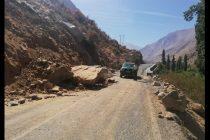 Paihuano resiste intenso sismo y municipio trabaja en despeje de rutas