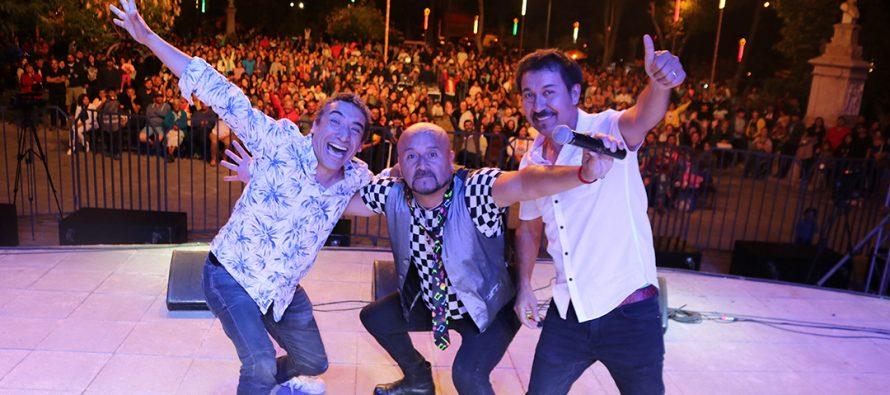 Con muchas risas y nostalgia de épocas pasadas se desarrolló la Noche del Humor en Vicuña