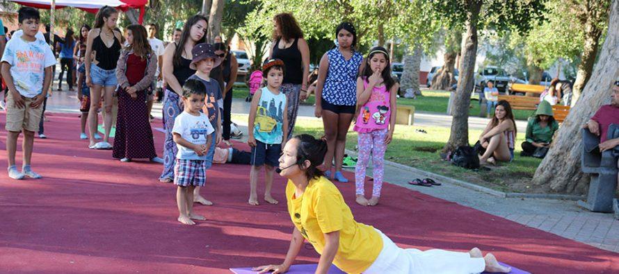 Vicuña potencia el turismo Wellness con una muestra en pleno centro de la ciudad