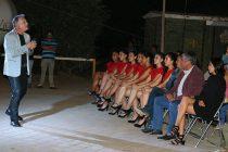 Alejandro de Rosas deleitó a Rivadavia en su primera presentación en la comuna de Vicuña