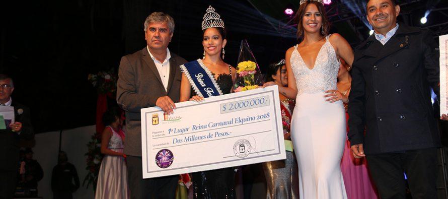 Invitan a jóvenes de Vicuña a participar en el concurso de la reina del Carnaval Elquino 2019