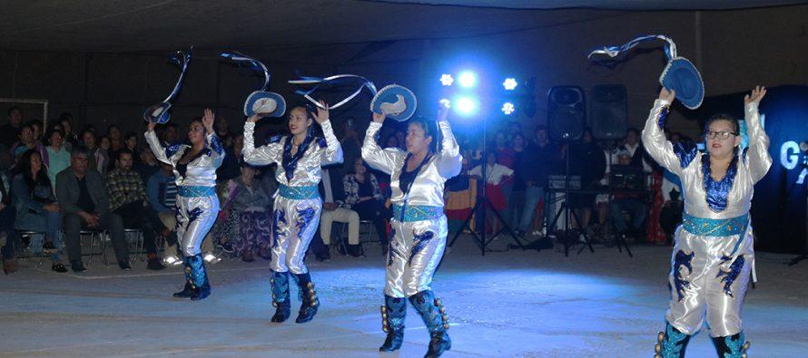 Agrupación de Rivadavia deleitó a los elquinos en su 2da Gala Folclórica