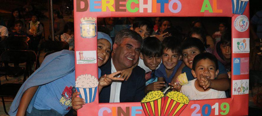"""Calingasta fue el primer pueblo que vivió el """"Derechito al Cine"""" este verano 2019"""