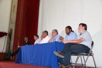 Más de 250 personas se hicieron presentes en el foro ciudadano sobre la doble vía en Vicuña