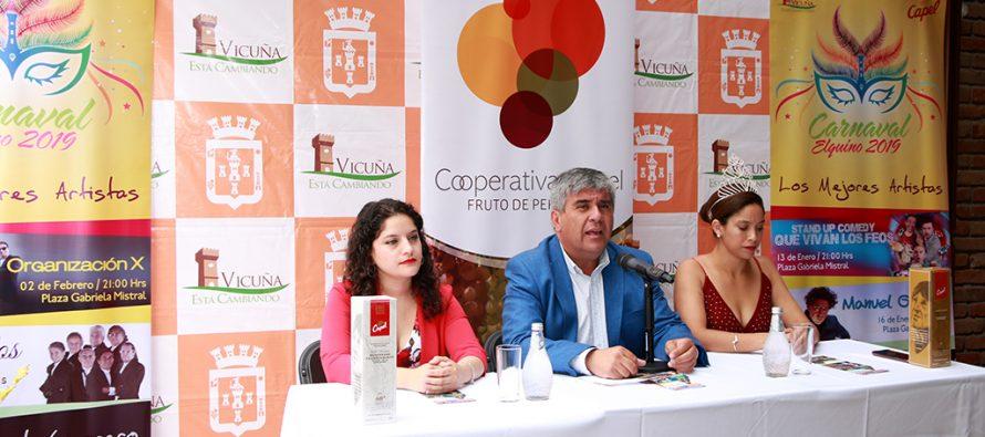 Manuel García, Combo Tortuga, Los Galos y Luis Jara estarán en el Carnaval Elquino 2019