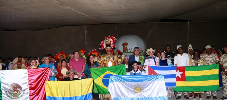 """Festival Internacional de Folclore de """"Alas de mi Patria"""" estuvo presente en Rivadavia"""