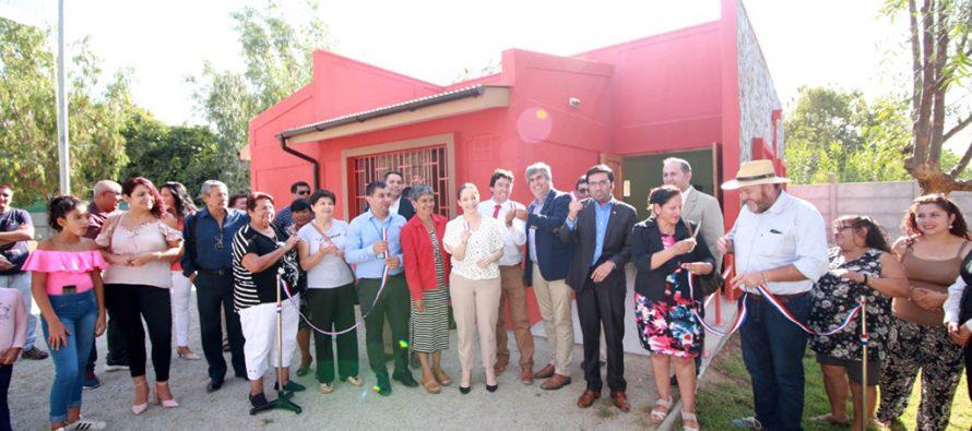 Centro Comunitario Pablo Neruda beneficiará a 300 vecinos de Vicuña