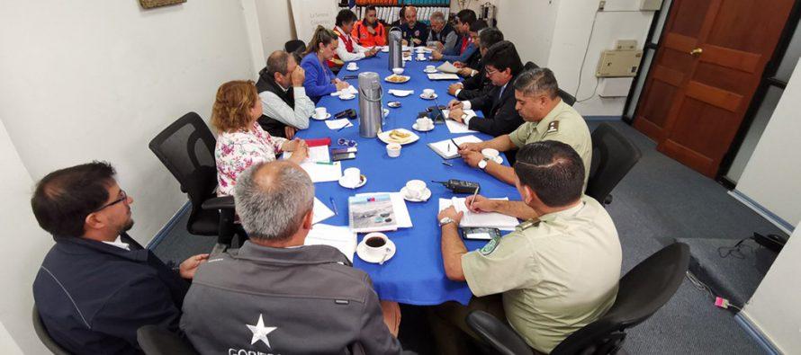 En la Gobernación de Elqui se constituyó el Comité Operativo de Emergencias provincial