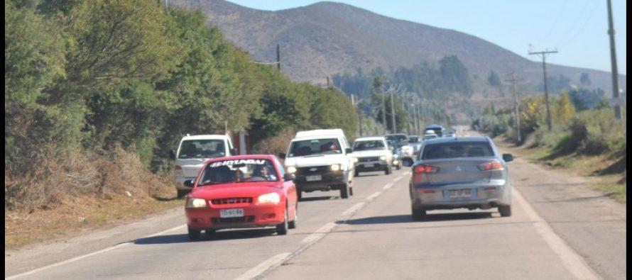 Continúan críticas por la no continuación de proyecto de doble vía en ruta al Valle del Elqui
