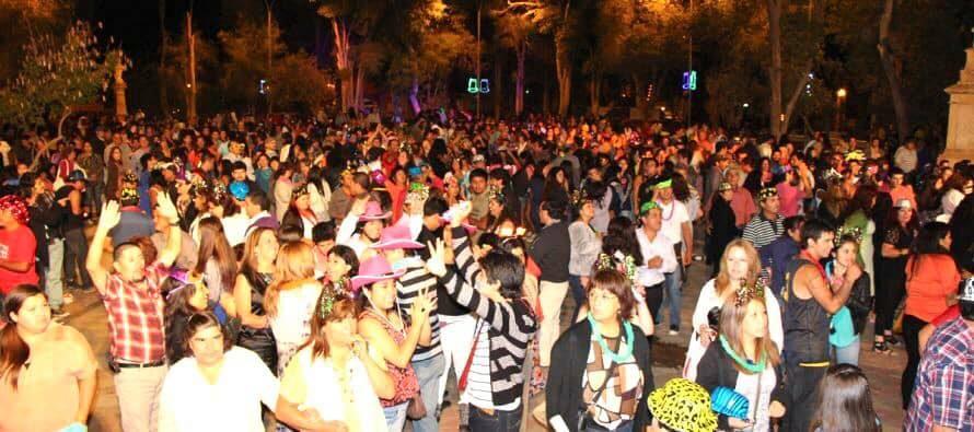 Vicuña ya está listo para vivir su noche bailable en la plaza Gabriela Mistral