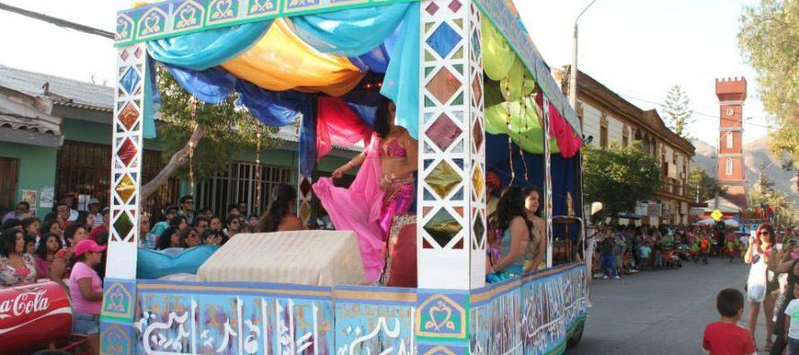Baile de Aniversario, Corso de Flores y Fiesta de la Vendimia vuelven a la plaza Gabriela Mistral