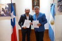Vicuña y Caucete firman convenio de hermandad para potenciar la cultura y el turismo