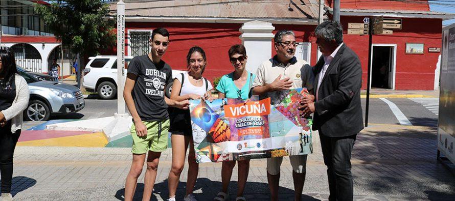 Vicuña suma nuevas piezas de promoción turística con parasoles para autos y jingle musical