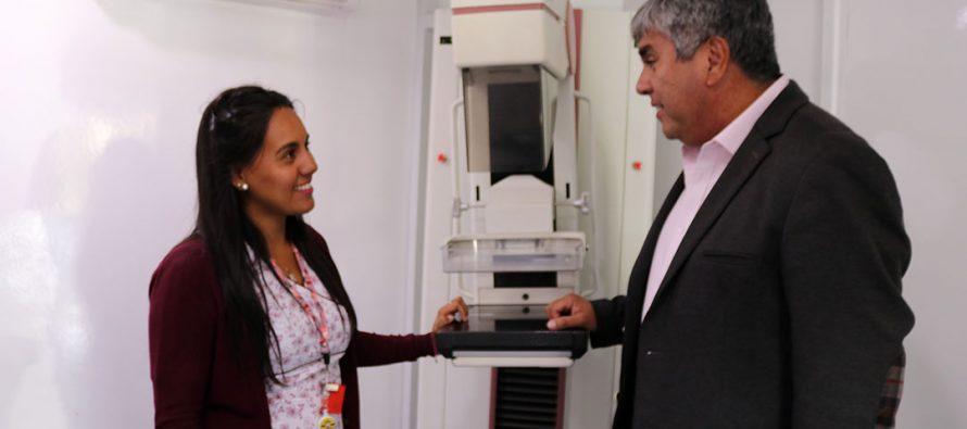 72 mujeres de Vicuña se realizaron  el examen de mamografía gratuita