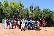 Fabián Maturana se quedó con el trofeo de la 6ta versión de la Copa de Tenis Copa Canihuante