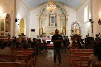 Con éxito culminó su itinerancia por la comuna la orquesta Gabriela Mistral de Vicuña