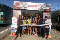 """Equipo femenino que representó a Vicuña hace historia en el maratón """"Cruce Los Andes"""""""